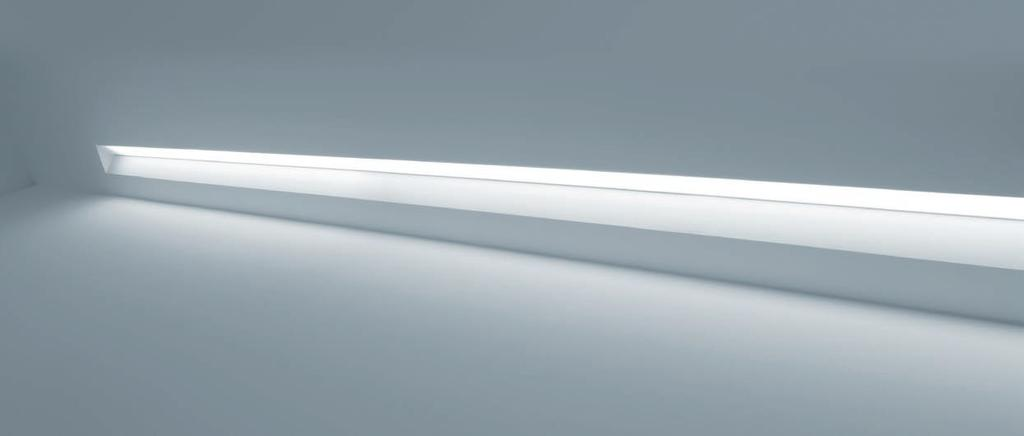 Recessed system TZ-100 TZ-100 For indirect illumination.