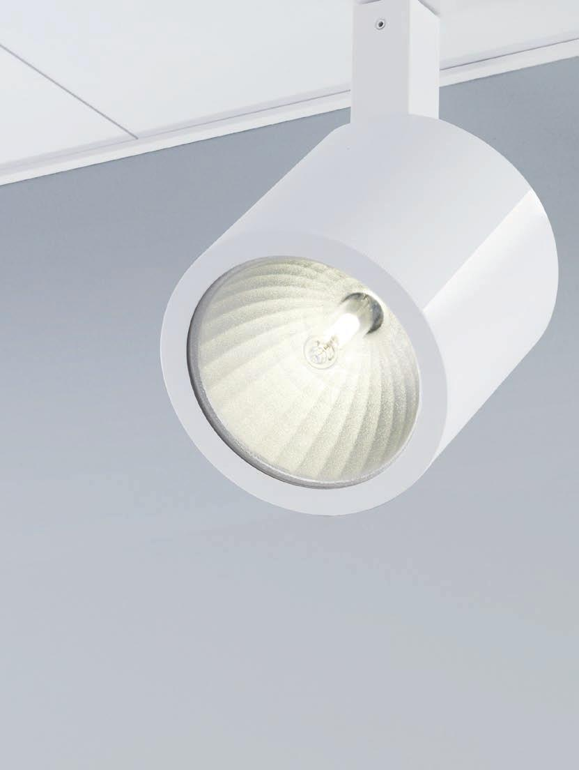 Recessed system TZ-150 TZ-150 spotlights complete with: Cover L 300 x W 174 mm Cable and euro adapter (3 phase)