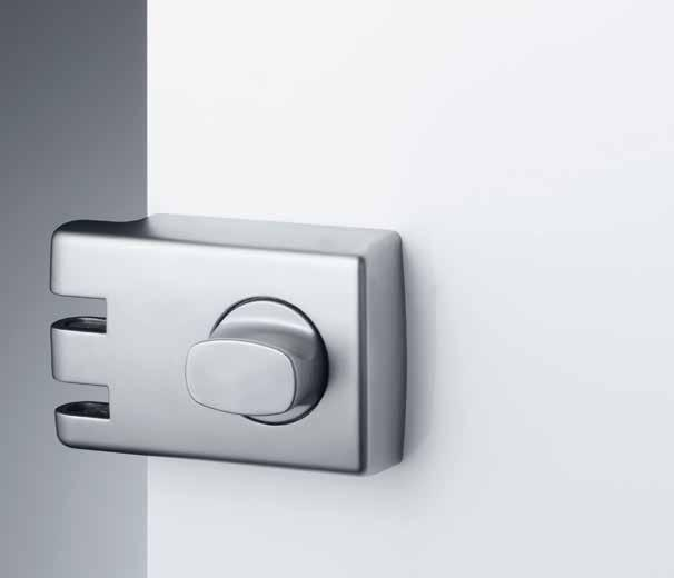 Features and Specifications Suitable for hinged and some sliding doors Lockable turn knob with inbuilt clutching device to resist wrench attack Strong interlocking case and mounting plate to resist