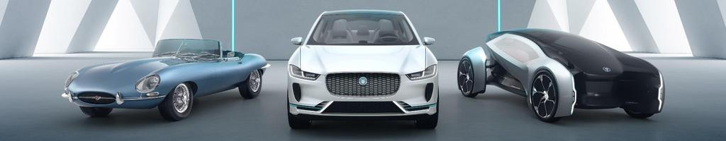 2018 from 2020 All JLR vehicles offer electric options Mild