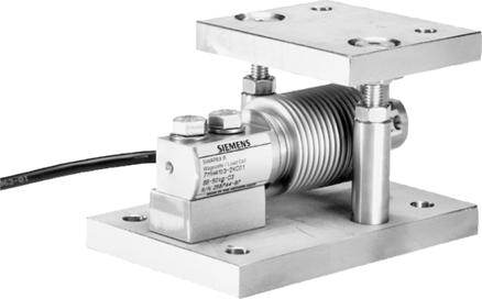 Compact mounting unit Selection and ordering data Article No. Compact mounting unit For load cells of series... 200 kg (22.05... 440.92 lb) 7MH41-DC11 75 (2.