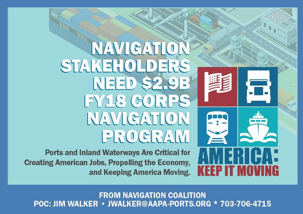 Corps Navigation Funding Advocacy 9 Regional