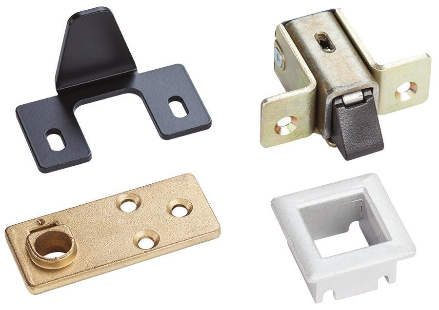 237 Two point latch Series 237 Two point latch Series 237 Two point latch assembly is ideal for spaces where occupancy does not require panic or fire exit hardware.