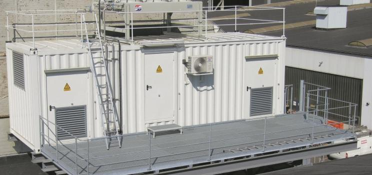 Shore-side power supply for eco-friendly ports Reference: Flensburg Shipyard Compact and flexible