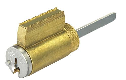 Standard cylinders Standard cylinders are available in the patented Everest 29 or Classic keyways.