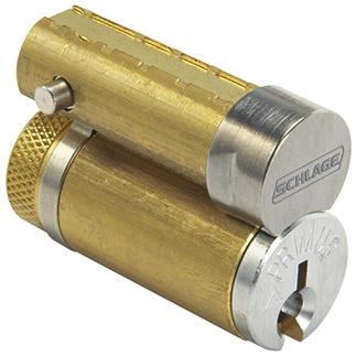 Cores only Full size interchangeable cores - options (For JD suffix locksets) Full size core Conventional core Primus XP high security core Available in 606, 626 and 643e finish only.