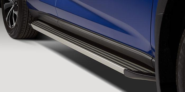 00* These Lexus Side Steps are crafted from anodised aluminium to add some serious style to your NX.