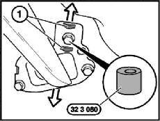 Rear Suspension Adjustments (HA3 Central Link Axle) Rear Toe Toe is adjusted by moving the