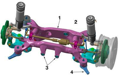 E6x Rear Suspension (Integral IV) The rear suspension of the E6x vehicles which include the 5, 6 and 7 series vehicles remained mostly unchanged.