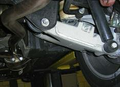 Rear Suspension Adjustments (Integral Rear Axle III/IV) The integral rear axles (III and IV) have accommodations for the