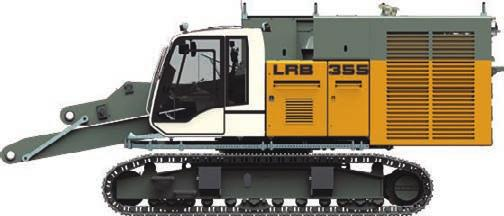 3 t 8915 347 4 38 5895 7135 145 9 35 Transport basic machine (ready for operation*, without counterweight) Transport weight 48.