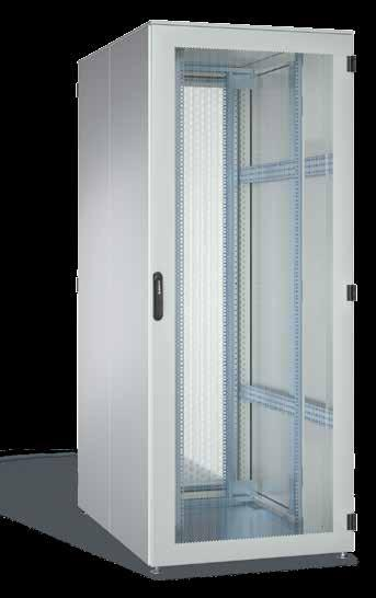 2,100 mm Depth: 1,000 mm and 1,200 mm Material Basic frame: 1.50 mm steel sheet, multi-profiled Doors: 1.