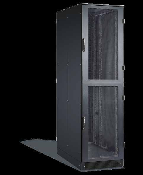 SCHÄFER IS-1 Colo-Rack State-of-the-art rack solutions for all standard server and network components even for combinations of components from different manufacturers Maximum security: Screw-fastened