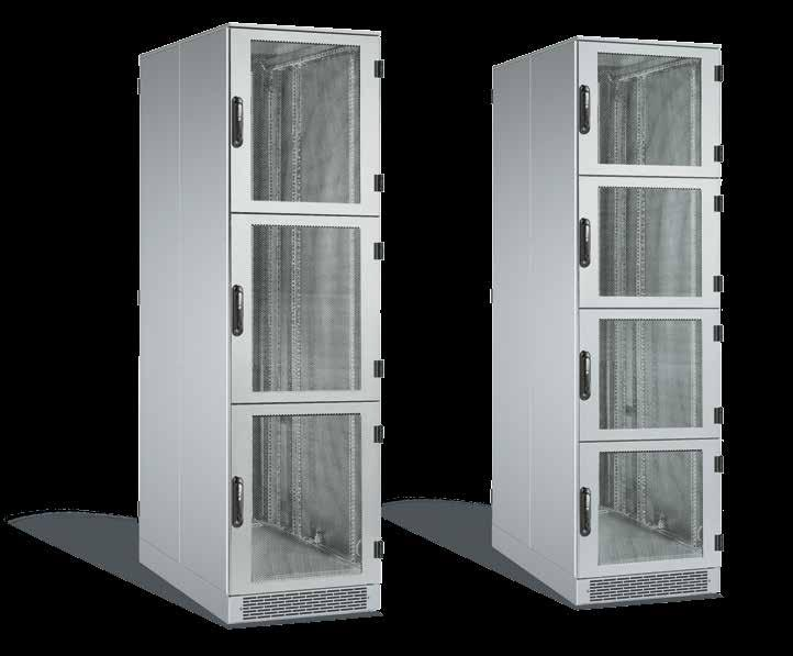 IS-1 based Colo racks for both network and server components International standards IEC 297-1/2 482.