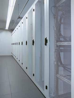 SCHÄFER IT Rack solutions all the benefits at a glance n Frame profile load-bearing capacity of up to 1,500 kg n Flexible extension and