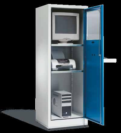 IV. PC Cabinets, PC Enclosures IP54 rating PC Case Comfort For the secure accommodation of PCs, printers, monitors,