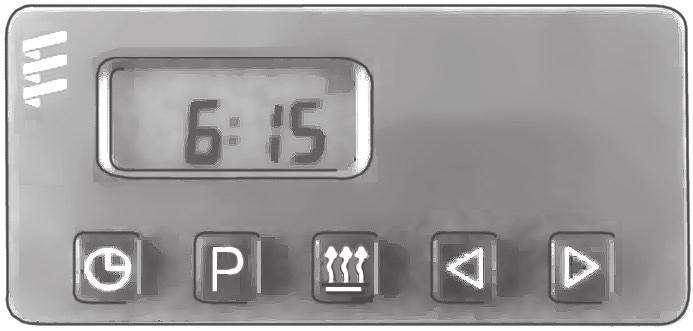 This timer connects to the diagnostic circuit of the heater. The timer then displays any heater fault codes in three digit number form automatically.