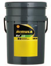 TRANSPORT HEAVY-DUTY DIESEL ENGINE OILS SHELL AUSTRALIA LUBRICANTS PRODUCT DATA GUIDE 2013 SHELL RIMULA R6 LM SHELL RIMULA R6 LM SYNTHETIC HEAVY-DUTY DIESEL ENGINE OIL TRANSPORT HEAVY-DUTY DIESEL