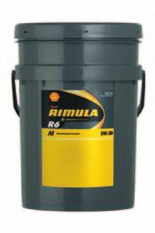 SHELL AUSTRALIA LUBRICANTS PRODUCT DATA GUIDE 2013 TRANSPORT HEAVY-DUTY DIESEL ENGINE OILS SHELL RIMULA R6 M SYNTHETIC HEAVY-DUTY DIESEL ENGINE OIL SHELL RIMULA R6 M Shell Rimula R6 M features