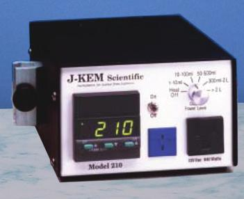 Single-Channel Controllers 12325 Model 210, J-Kem The Model 210 is our most compact research grade controller, yet packed with 1200 watts of power.