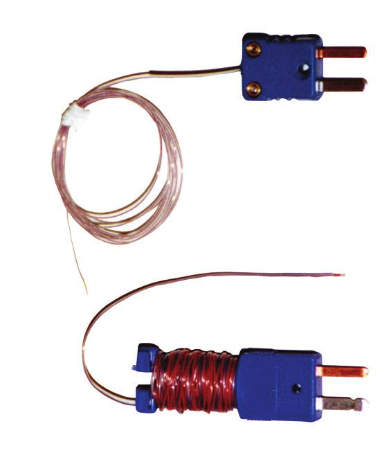 12185 Wire Sensors Flexible 30-gauge thin wire thermocouple. Ideal for small volumes and hard-to-reach spots.