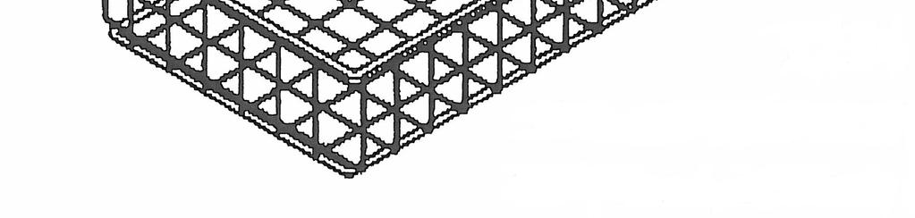 70 Shallow Wire Basket 14 D x 20 L