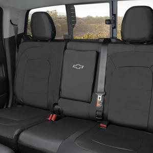 CHEVY $295 Seat Protector - Fitted / Protective Seat Cover for Crew Cab, Jet Black, for Models