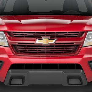 HOT - CHEVY Grille / Grille Package, Red Hot VAT