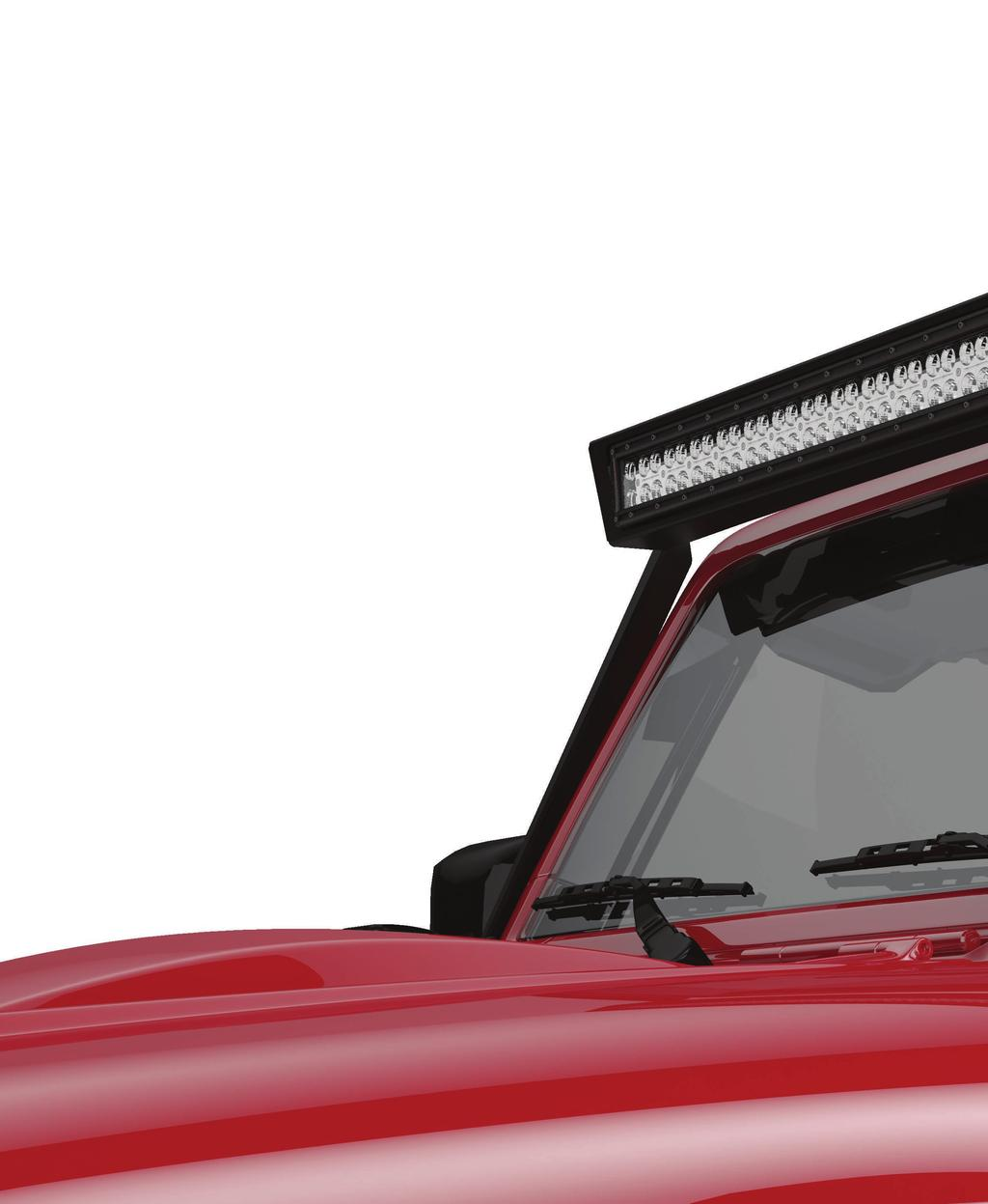 F LF WINDSHIELD LIGHT FRAME LF WINDSHIELD LIGHT FRAME is a rugged,