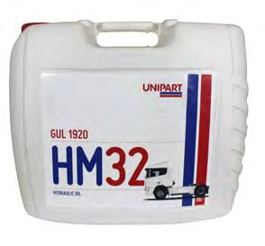 Transmission Oils - Din 51524-part2 - ISO 11158-HM GUL1920 - Hydraulic Oil HVI 2 Suitable for use in a wide range of hydraulic and industrial equipment.