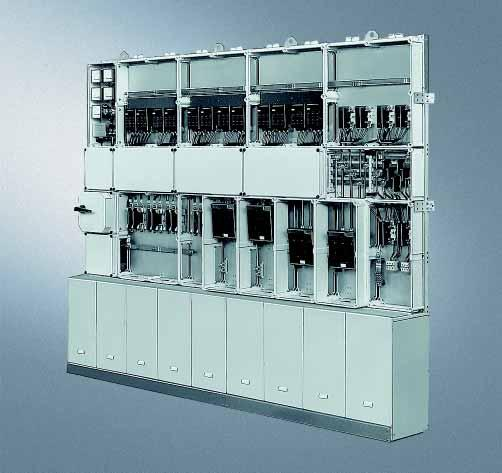 Siemens AG 2007 ALPHA 8HP Molded-Plastic Distribution System General data The 8HP distribution system is a modular system for low-voltage small distribution boards, control panels and power