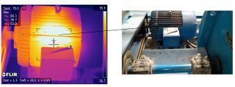 thermal images of moving targets in real time Can identify