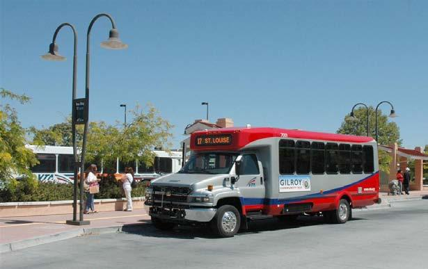 Service Area: Downtown San Jose COMMUNITY BUS Image Gilroy Shuttle