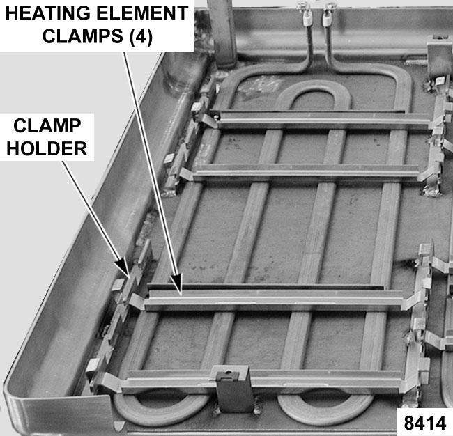 ELECTRIC BRAISING PANS - REMOVAL AND REPLACEMENT OF PARTS 6. Reverse procedure to install and check for proper operation.