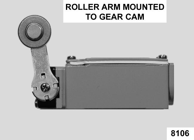 Rotate the roller arm adaptor counterclockwise 1 tooth, re-engage teeth and release the adaptor. G.