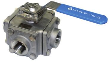 Three Way Ball Valves 3-L/T-2100 Series 3T-3100/3L-3201 Series 3T-3300/3L-3400