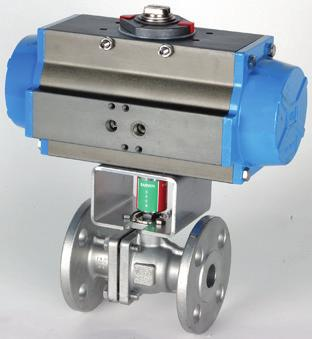 design (full port), anti-static stem, actuator mounting pad, available in special alloys and designs only API 607 fire safe, Class 150 and 300 flanged end ball valves, split body design, anti-static