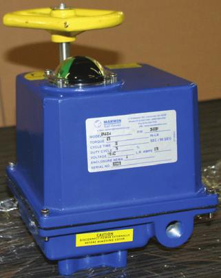 to 27,000 in-lb All common currents/voltages NEMA 4 & 7 enclosures Permanently