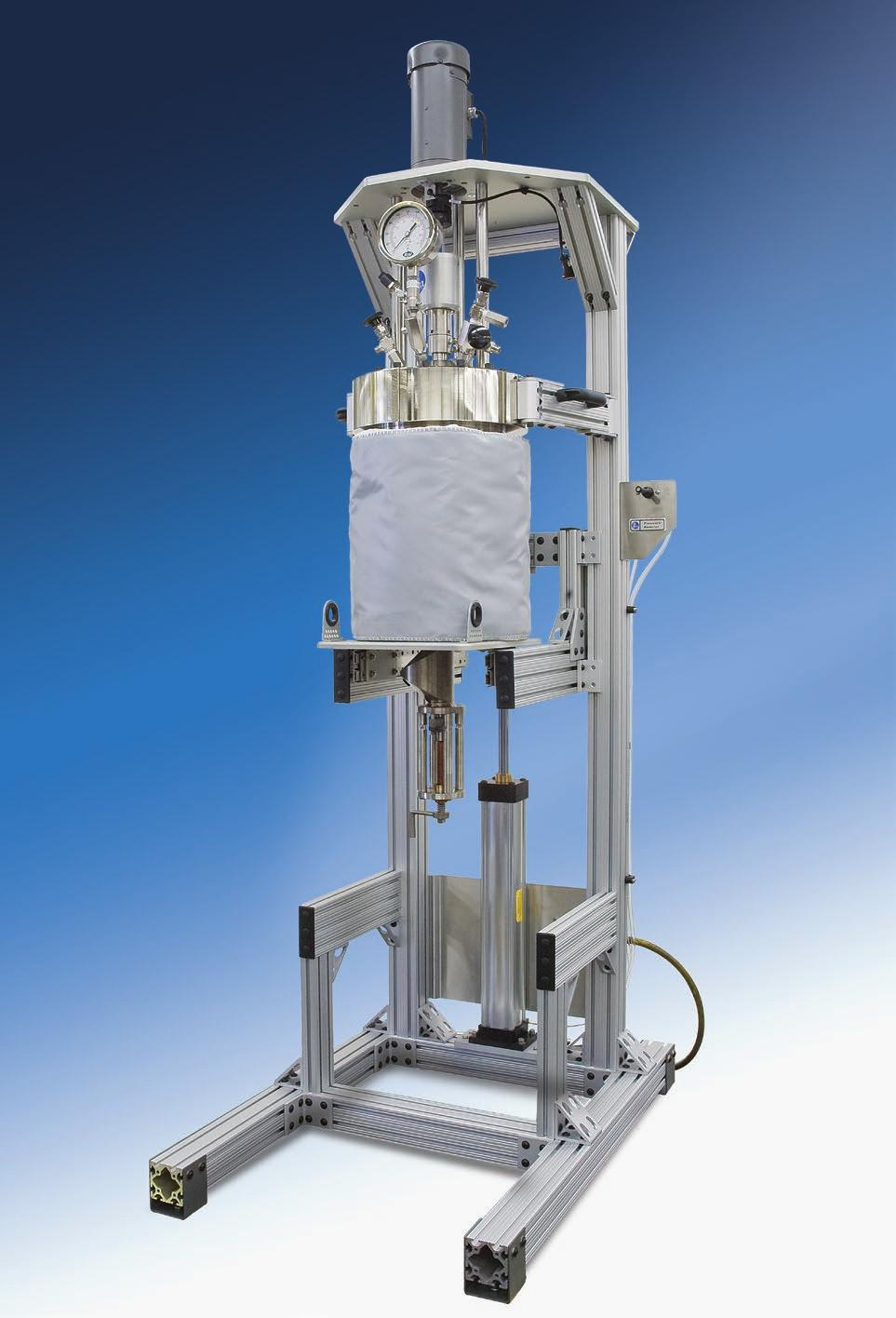 Series 4555 10 & 20 Liter Reactor Systems Series Number: 4555 Type: General Purpose Stand: Floor Stand Vessel Mounting: Moveable or Fixed Head Vessel Sizes, Liters: 10 and 20 Standard Pressure MAWP