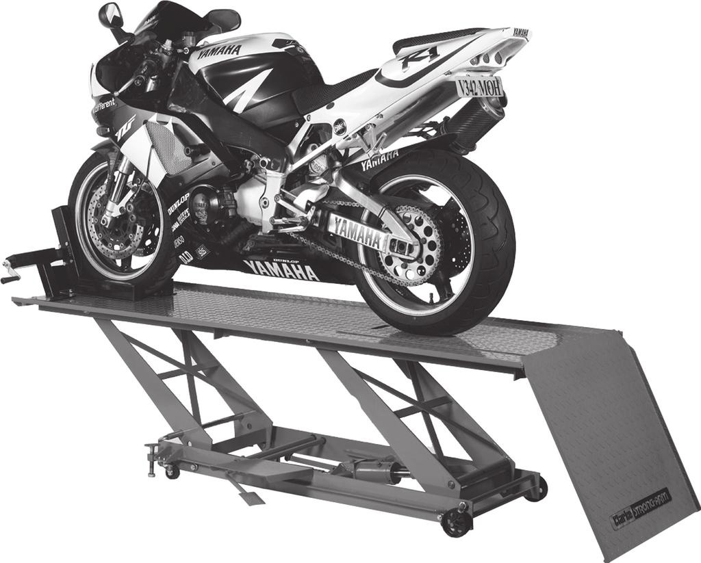 Hydraulic Motorcycle Lift.