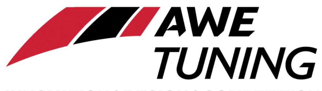 AWE Tuning 2385C Maryland Rd Willow Grove, PA 19090 215.658.1670 215.658.1670 www.awe-tuning.com www.awe-tuning.com Thank you for choosing A.W.E. Tuning as your performance automotive parts supplier.