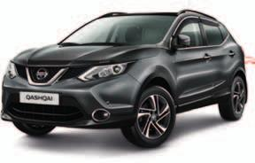 PROTECTION Protect your QASHQAI from the rough and tumble of road life