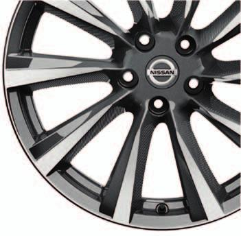 ALLOY WHEELS These Nissan Genuine alloys are specially designed and engineered for QASHQAI,