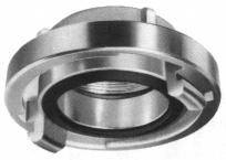 Quick coupling a d a d G Quick coupling Couping part DN-hose-AI standard. Female-male threaded. G Nominal pressure Die-cast aluminium PN10, PN16 DN PN Standard a d Pipe thread Part No.