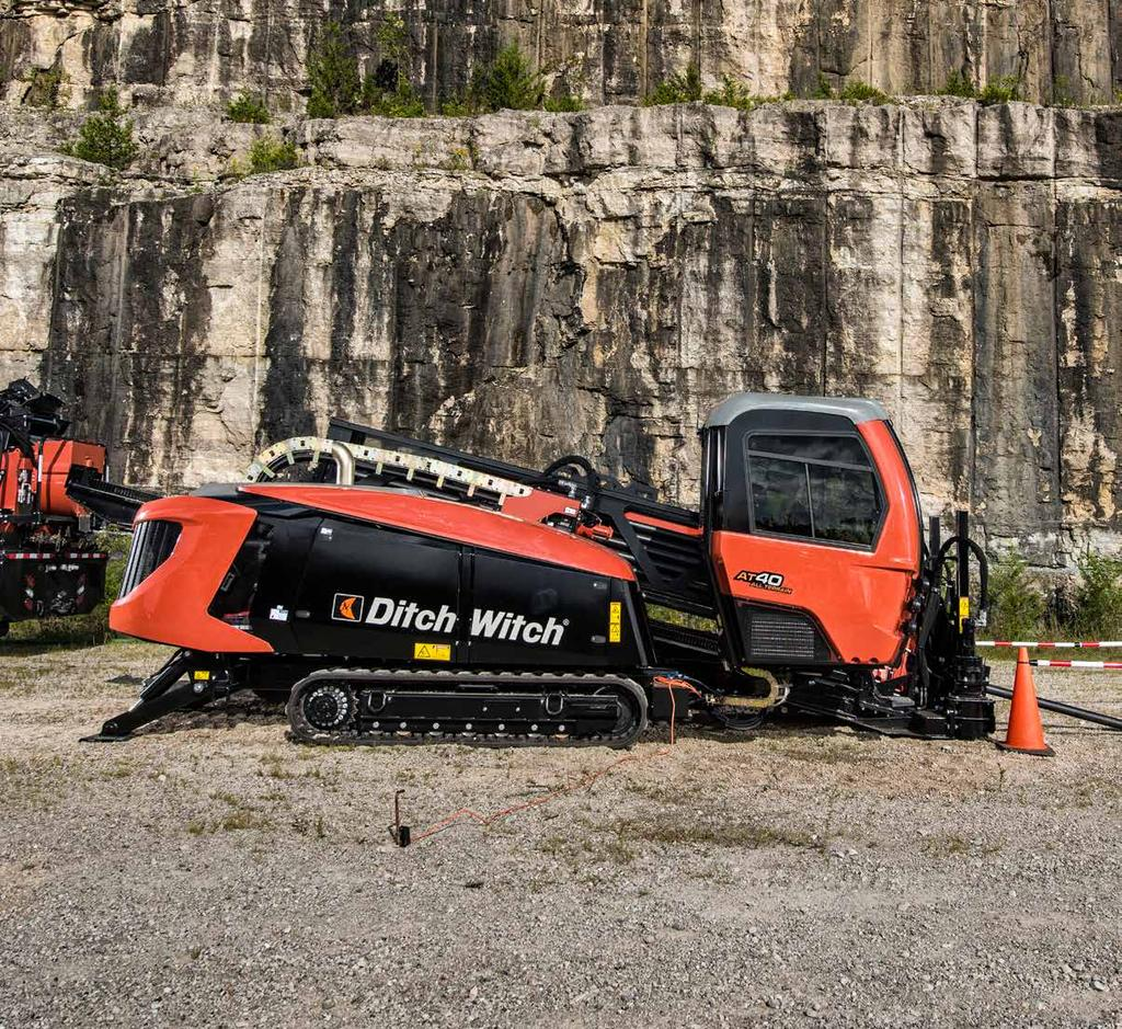 AT0 ALL TERRAIN DIRECTIONAL DRILL The fully enclosed cab is rated best in the industry based on customer input, and
