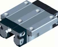 Rexroth Ball Rail Systems Standard Runner Blocks Made of Corrosion-Resistant Steel* Runner Block 2001- Standard Width With ball retainer as an option Versions: Runner block without ball retainer: for