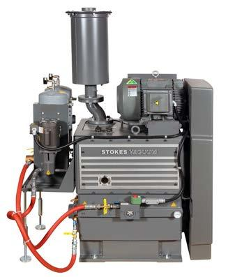 STOKES MICROVAC ESI SERIES OIL SEALED ROTARY PISTON PUMP MAXIMISE YOUR PRODUCTIVITY AND PERFORMANCE The Stokes Microvac ESI series (Extended Service Interval) sets the standard for reduced
