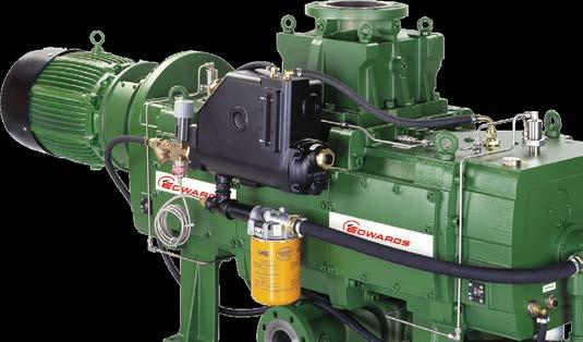 CDX DRY VACUUM PUMP MORE THAN PUMPS, COMPLETE VACUUM SOLUTIONS Edwards CDX00 represents the latest generation of dry pump