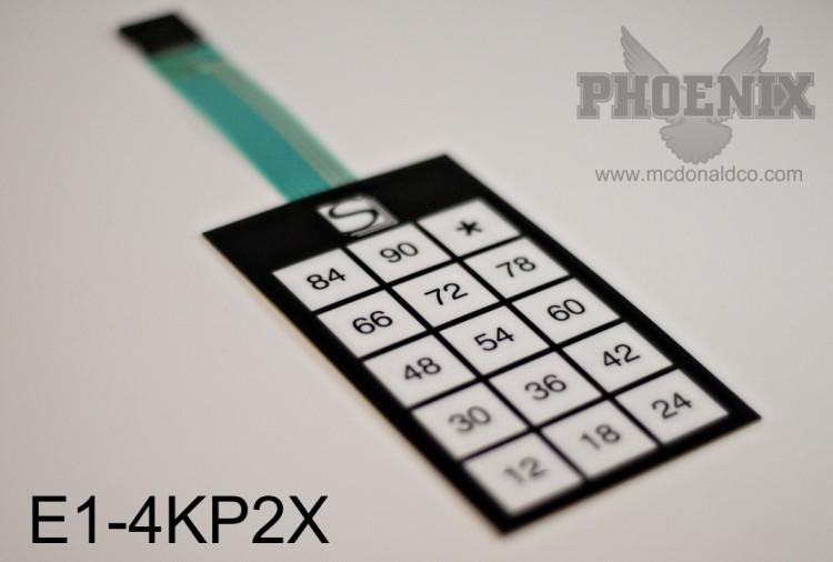 Keypad 12-90 All E Series
