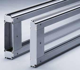 Depending on how much light you wish to allow in, we can incorporate as many EFA-CLEAR transparent acrylic glass laths as you like into the blade of your EFA-SST.